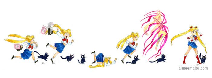 Go, Usagi! Sailor Moon by aimeekitty