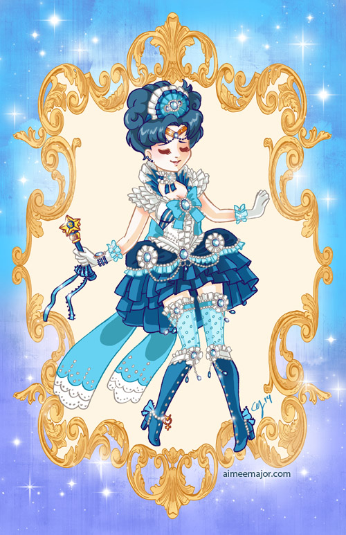 Rococo Sailor Mercury by aimeekitty