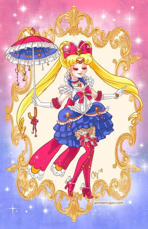 Rococo Sailor Moon by aimeekitty