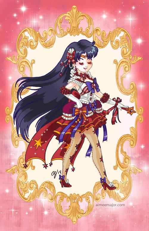 Rococo Sailor Mars by aimeekitty