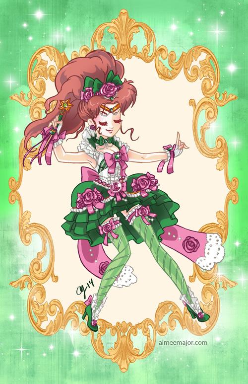 Rococo Sailor Jupiter by aimeekitty