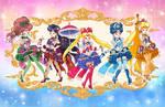 Rococo Inner Senshi Sailor Moon