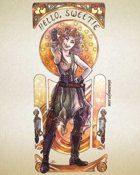 River Song Art Nouveau