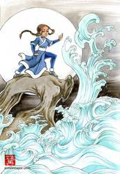 WATER GODDESS KATARA FROM AVATAR
