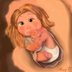 Baby Tangled by HorseArtistt