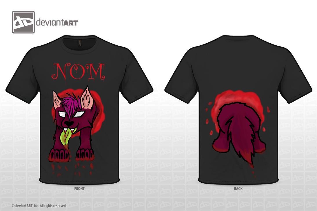 Cute nom nom nom wolf by Crystal-WolfDarkness