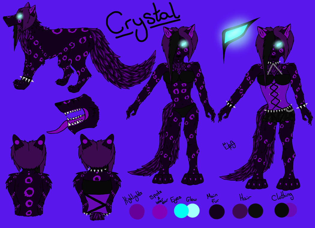 Crystal: Updated reference by Crystal-WolfDarkness