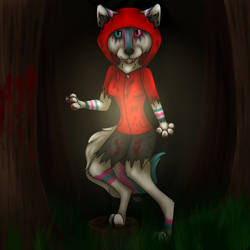 Little Red Riding Werewolf