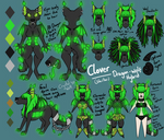 Clover Reference Sheet 2020 by Crystal-WolfDarkness