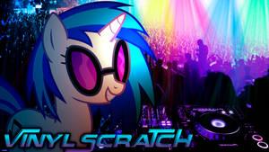 Vinyl Scratch Party Night