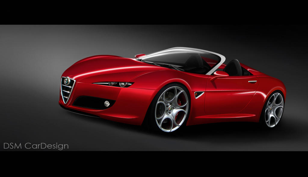 Alfa Romeo Spider By DSMCarDesign On DeviantArt - Alfa romeo spider new model