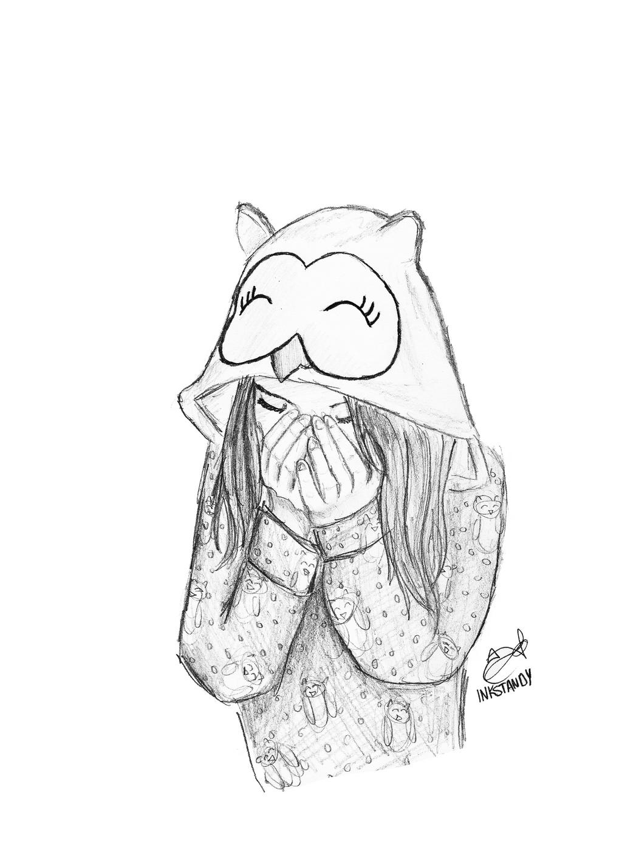 Owl Girl by Inkstandy