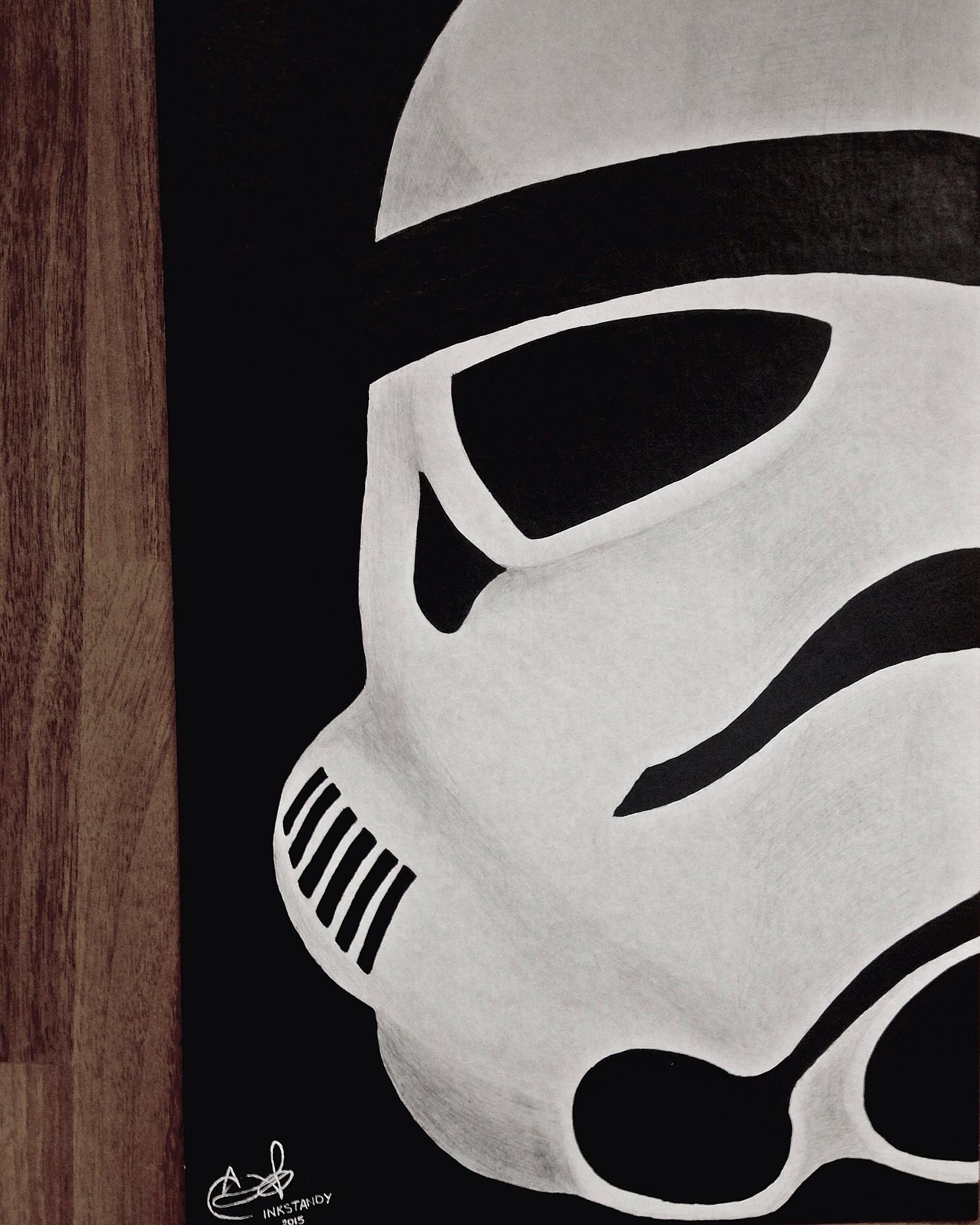 Star Wars Clone Trooper fan art by Inkstandy