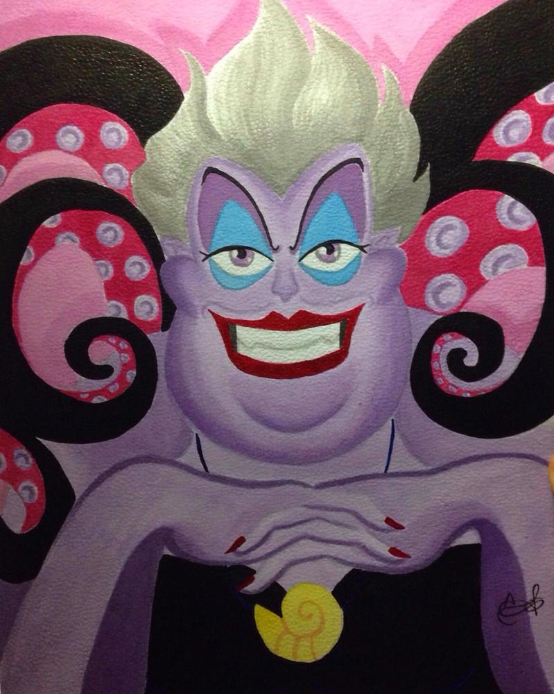 Ursula Fan Art by Inkstandy