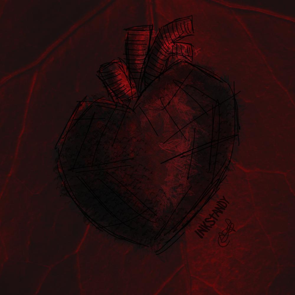 Dark Heart by Inkstandy