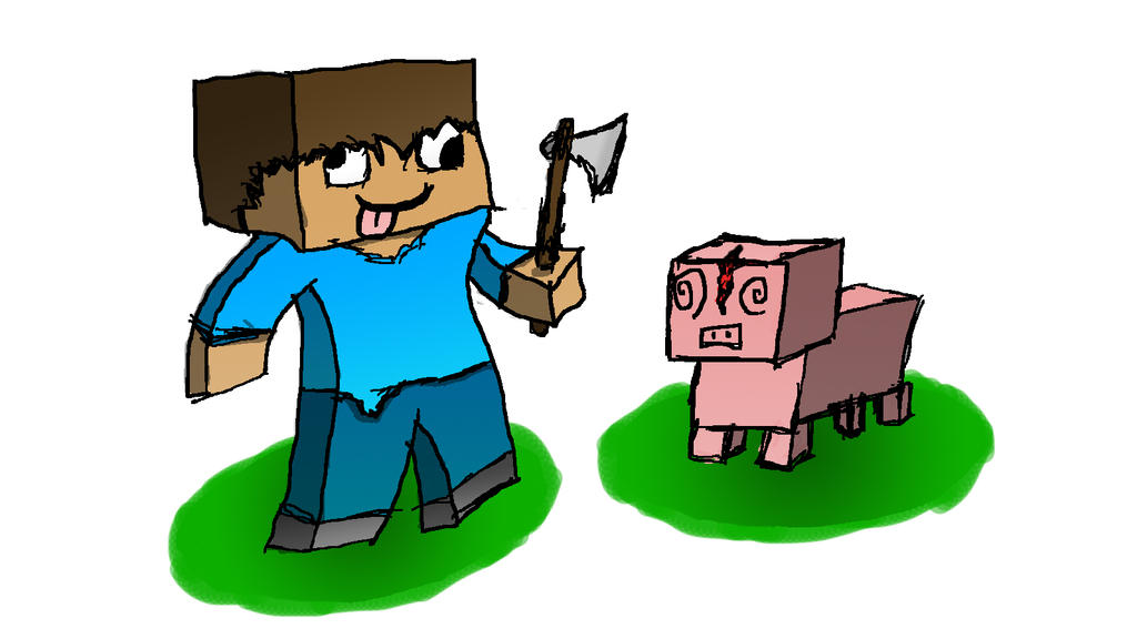 The Mighty Minecraftian by Mrgamermontage