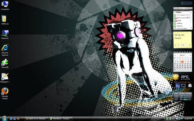 My desktop by death-au