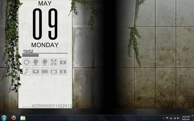 Portal 2 Desktop WIP by death-au