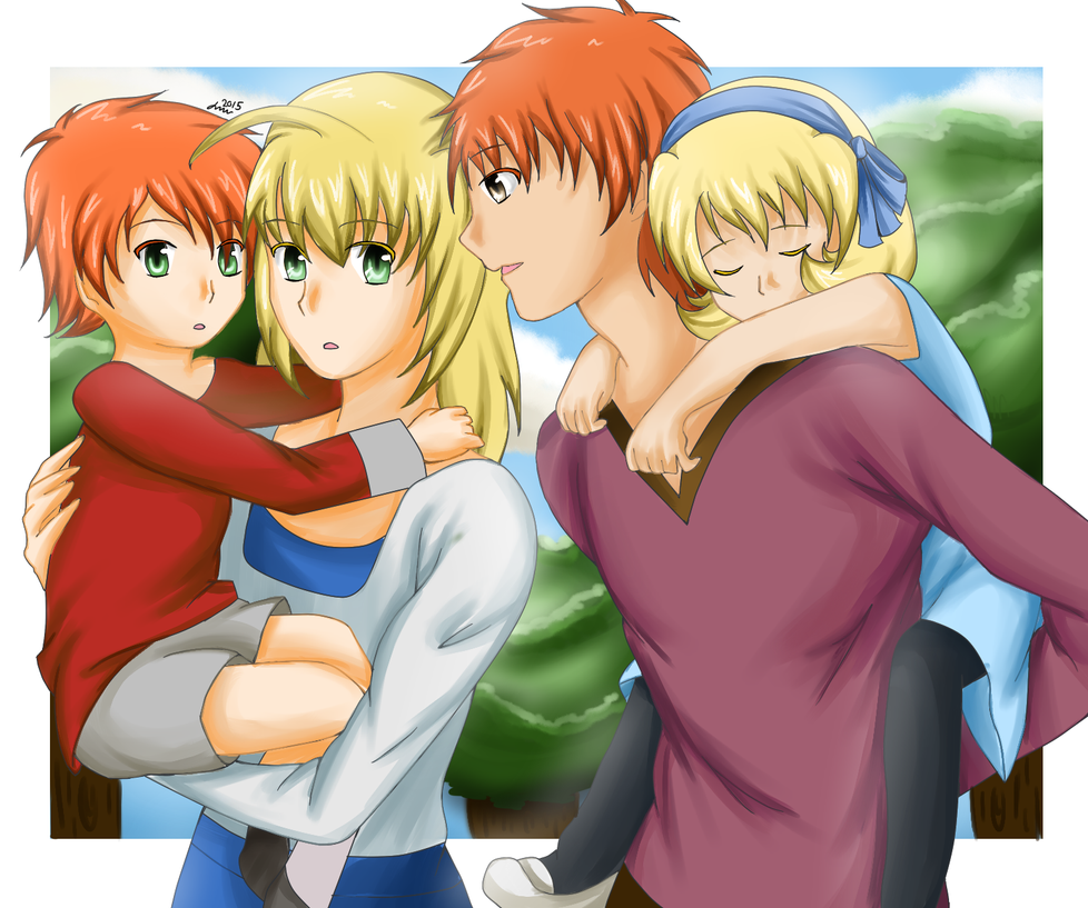 Fate Stay Family by Little-MissMidnight
