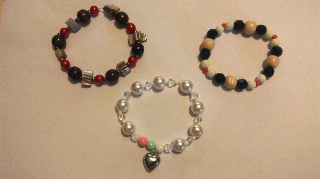 Aldnoah.Zero bracelets by Little-MissMidnight