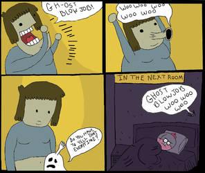 Ghost blowjob by KitsuneChan69