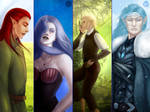 The Fading World characters