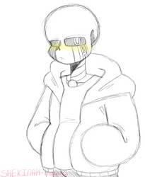 [UnderTale] Error Sketch by SHEKINAH-Animates