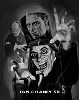 THE MAN OF A THOUSAND FACES ! LON CHANEY SR by Rjrazar1