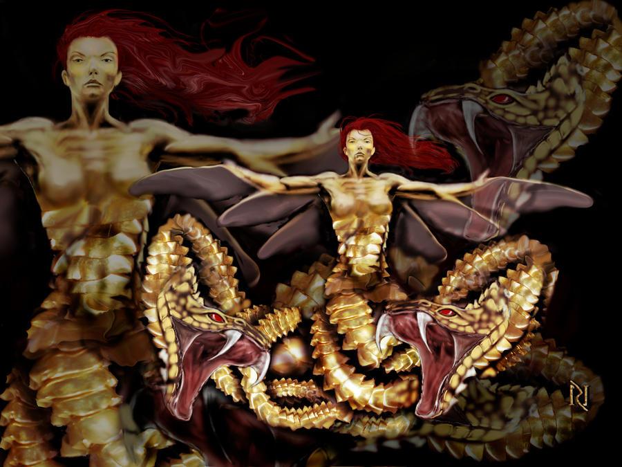 THE GOLDDEN CHIMERA by Rjrazar1