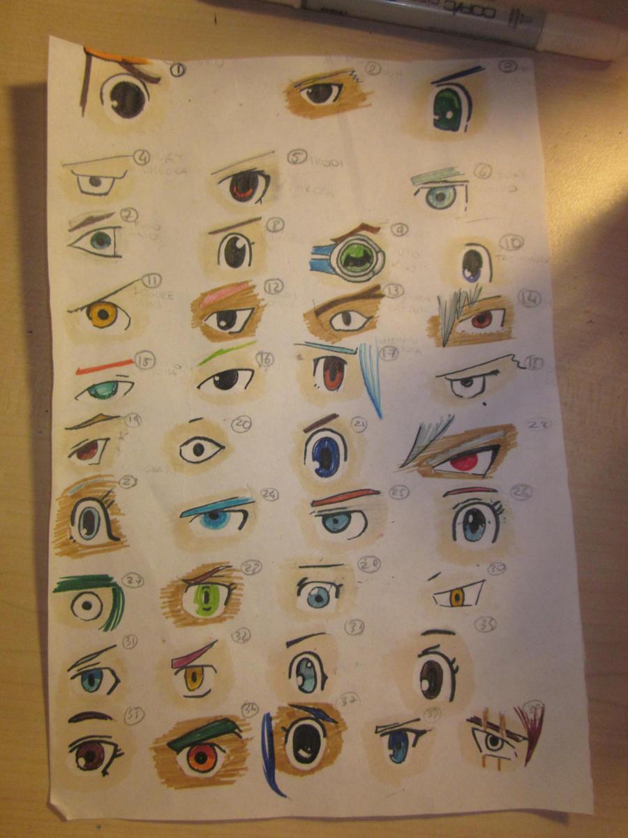 Inazuma eleven 39 s eyes by chbi otaku on deviantart for Domon x ichinose