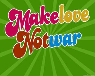Make Love Not War by rafaelreverte