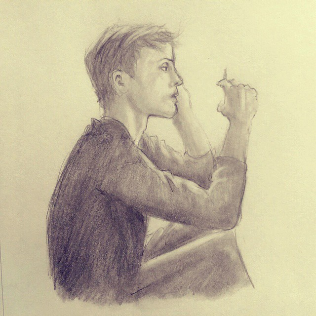 sketch by yuminica