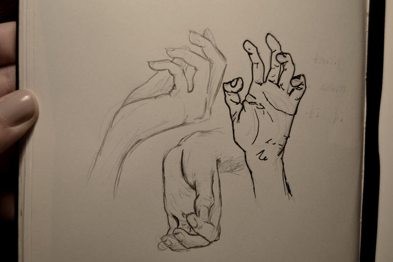 hands practice by yuminica
