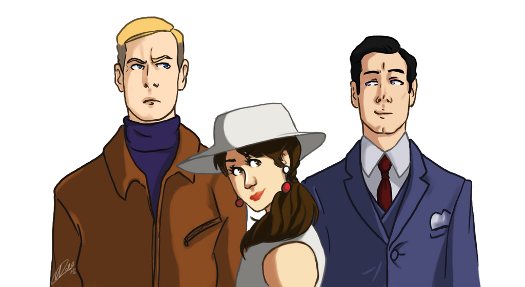 The man From U.N.C.L.E. by yuminica