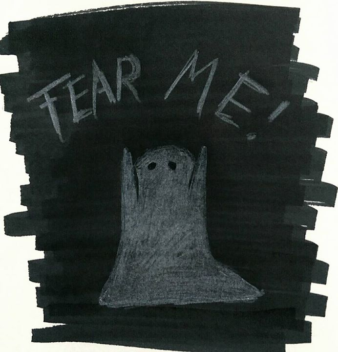 Inktober Day 17 - Fear Me by yuminica