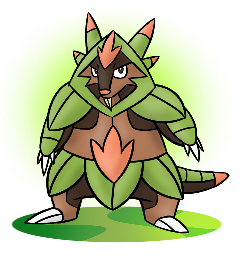 Chespin Final Evolution Chespin's final evolution by