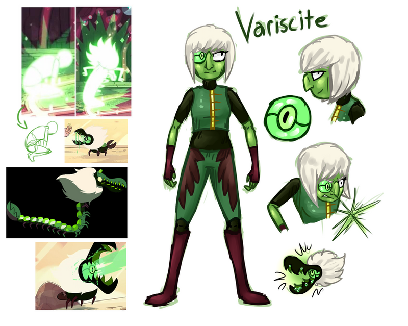 SU: Variscite (Speculation, slight spoilers) by Wolframclaws on ...