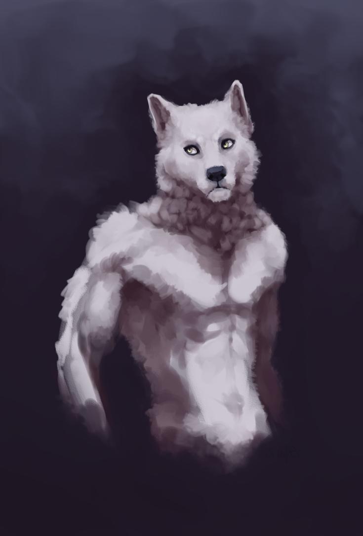 wolfman speedpaint by Wolframclaws