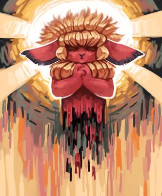 goretober 6th: martyrdom by Wolframclaws