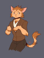cat boy by Wolframclaws