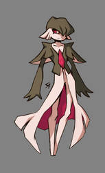 male gardevoir character by Wolframclaws