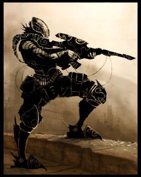 sniper knight