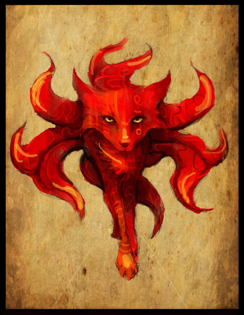demon fox by rytango