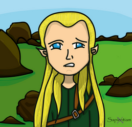 Legolas wtf by SapientiamX