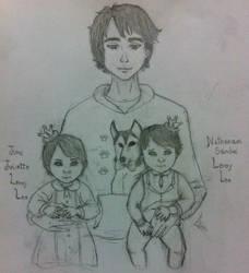 Leeroy Twins's first birthday by SapientiamX