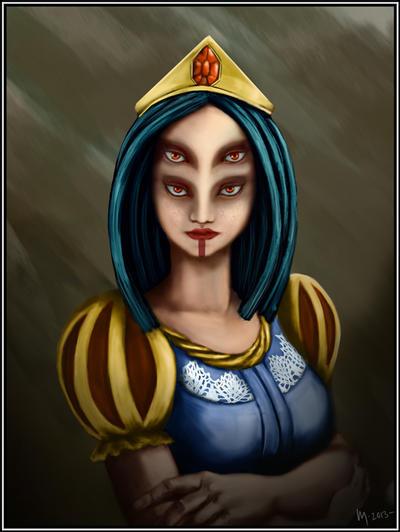 Mutant-Princess by KM-Chai