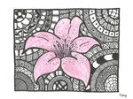 Lily Zentangle