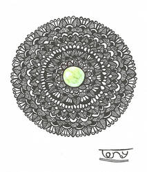 Gemstone Mandala by smileyface001