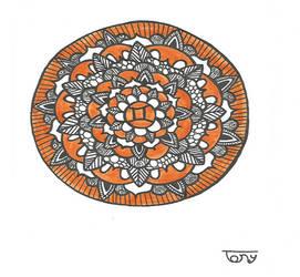 Gemini Sign Mandala by smileyface001