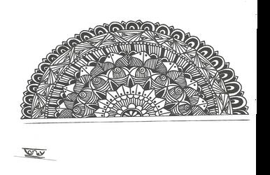 Half Mandala by smileyface001